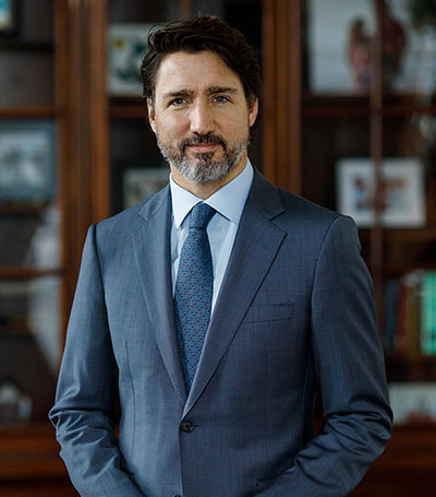 Message from The Right Honourable Justin Trudeau, Prime Minister of Canada